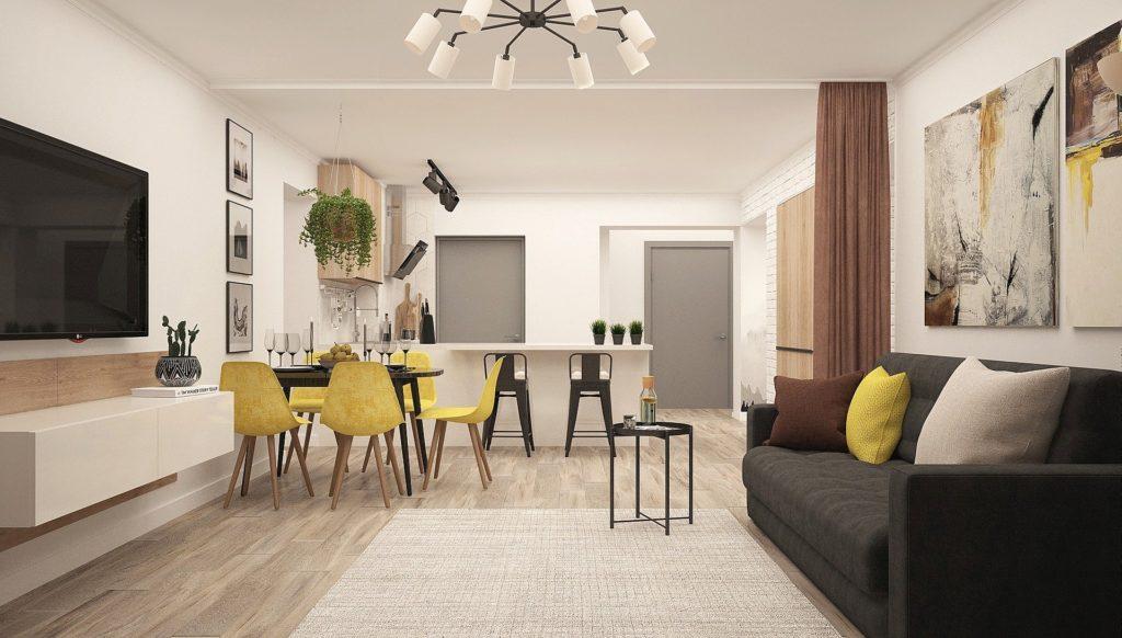 como mobiliar um apartamento